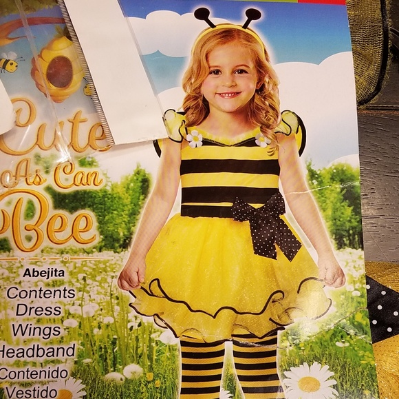 Costumes Toddler Girl Bumble Bee Costume 2t Poshmark